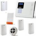 Alarm house wireless - Pack Iconnect IP / GSM strobe siren