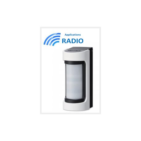 Accessories optex VXS-RAM - Detector IR radio outdoor wide angle accessories optex