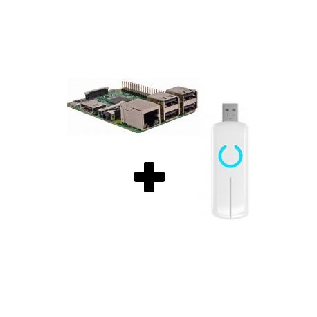 Raspberry PI-3 - Raspberry Pi-3 Z-Stick Aeotec ZW090 Z-Wave PLus