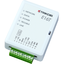 Trikdis E16T - Transmisor de alarma IP con aplicación para smartphone