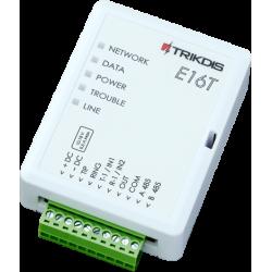 Trikdis E16T - Trasmettitore di allarme IP con app per smartphone