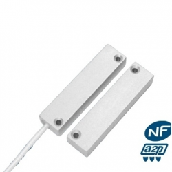 Alarm detector opening alu NFA2P with cable