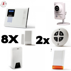 Allarme collegato a casa Iconnect IP / GSM