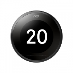 NEST - Smart Thermostat 3rd generation black