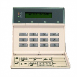 Cooper LCD keypad wired for central alarm 9752