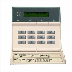 Cooper teclado LCD cableado para la central de alarma 9752