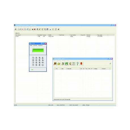 Honeywell software de programación de Galaxy Flex y Dimensión