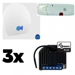 Energeasy Connect pack volets roulants Z-Wave Plus