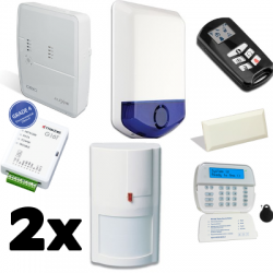 Pack alarm DSC ALEXOR - housing type F2 with GSM