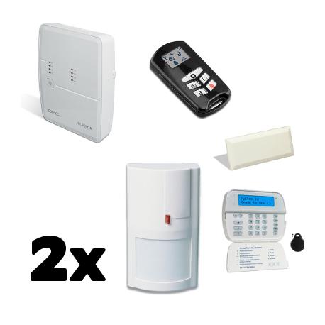 DSC - Pack alarm DSC ALEXOR F2