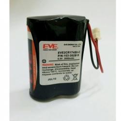 Batería de Visonic Batería de 6V batería de 2000mAh