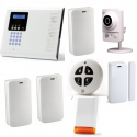 Alarm Electronics Line - Pack Iconnect IP / GSM siren flash and camera