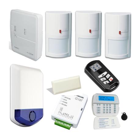 Alarm DSC ALEXOR - housing type F3 with GSM