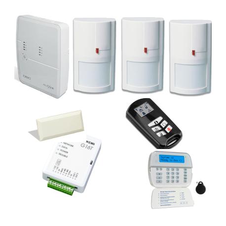 Allarme DSC - Pack DSC ALEXOR con comunicatore GSM