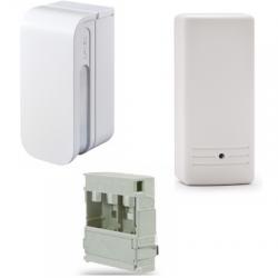 Risco Optex BXS-R Shield White - Détecteur alarme sans fil rideaux extérieur