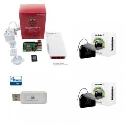 Jeedom pack automazione Pack Raspberry Pi 3 Z-Wave Più moduli FGR-222