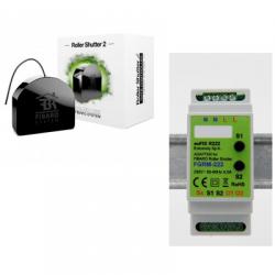 Fibaro FGR-222 - Modulo tapparelle automatizzate Z-Wave PLus DIN-rail