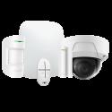 Alarma Ajax HUBKIT-W-DOM - Pack-alarma-IP / GPRS con la cámara domo