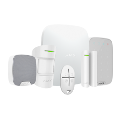 Alarme Ajax - Pack alarme IP / GPRS avec sirène intérieure