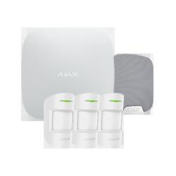 Allarme Ajax HUBKIT-PRO-S - Pack di allarme IP / GPRS con sirena da interno
