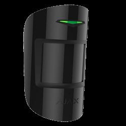 Alarme Ajax COMBIPROTECT-B - Détecteur PIR et bris de vitre noir
