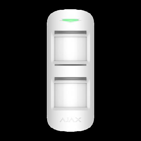 Alarme Ajax OUTDOORPROTECT-W - Détecteur extérieur PIR blanc
