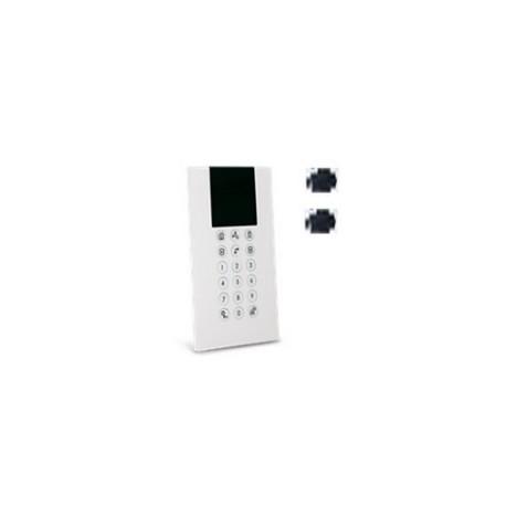 Risco RW332KPP800A - Teclado LCD inalámbrico Panda unidad de ETIQUETA