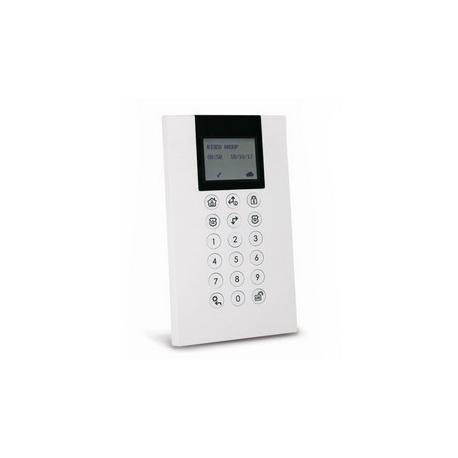 Risco RP432KP0200A - Teclado de alarma Panda cable de LCD