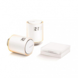 NETATMO - starter Kit valves connected to the radiators