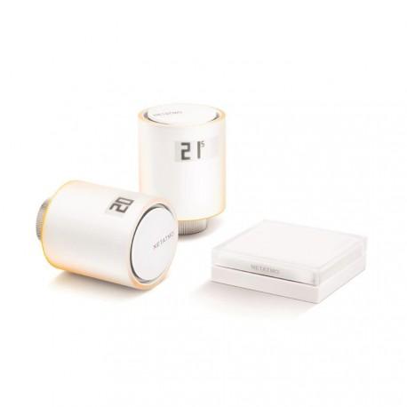 NETATMO - starter-Kit ventile für heizkörper angeschlossen