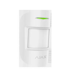 Alarma Ajax MOTIONPROTECTPLUS-W - PIR de doble tecnología, blanco