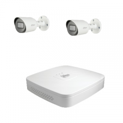 Dahua Kit video surveillance with 2 cameras HD-CVI 2 Megapixel