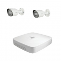 Dahua-Kit videoüberwachung 2 kameras HD-CVI 2-Megapixel-kamera