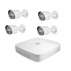 Dahua Kit de vigilancia de vídeo puede conectar 4 cámaras HD-CVI de 2 Megapíxeles