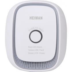 Heiman gas detector Z-Wave More