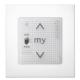 Somfy 1811405 -SMOOVE UNO io-compatible - Blanc + CADRE