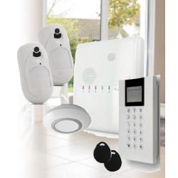Risco Agility 4 - Pack Agility 4 fil IP/GSM détecteurs caméras sirènes intérieure