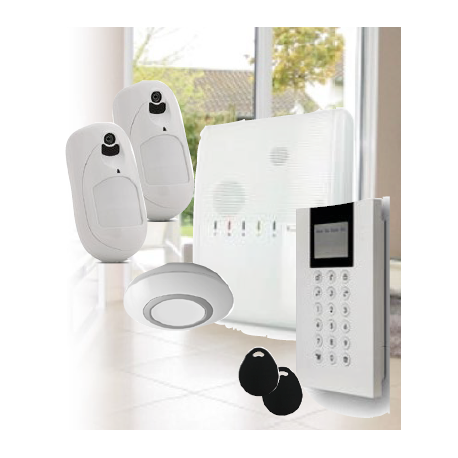 Risco Agility 4 - Risco Agility wireless alarm IP/GSM detectors cameras