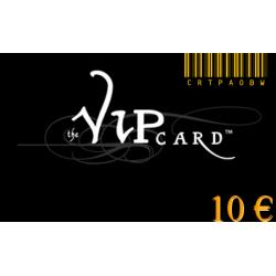 Carte cadeau VIP d'une valeur de 10€