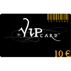 Karte VIP-geschenk im wert von 10€