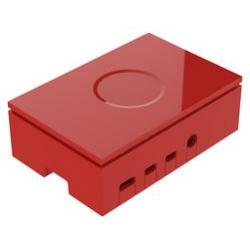 Gehäuse Raspberry Pi 4 Multicomp Pro rot