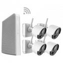 ACvision - Kit vidéo WIFI sur batterie 2 caméras