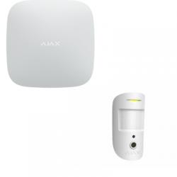 Alarme Ajax - Alarme Ajax kit levée de doute Hub2 MotionCam