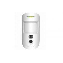 Ajax MotionCam - Détecteur de mouvement avec caméra blanc