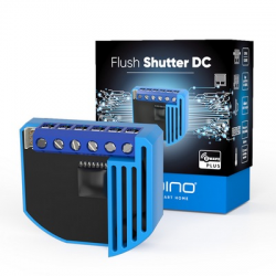 ZMNHOD1 - Micro-module QUBINO for rolling shutter 12 / 24 DC with conso-meter Z-Wave More ZMNHOD1