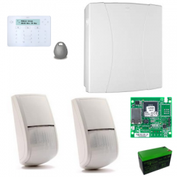 Risco LightSys 2 - Pack alarm wired IP keyboard Panda drive tag