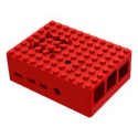 Enclosure, Raspberry Pi 4 Multicomp Pro black