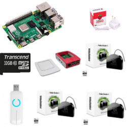 Jeedom automatisme - Pack Raspberry Pi 4 Z-Wave PLus Fibaro FGR-223