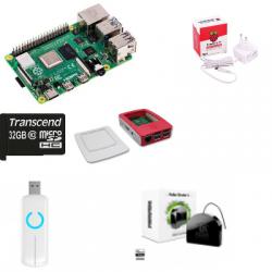 Jeedom Fibaro automatisme - Pack Raspberry Pi4 Z-Wave PLus FGR-223