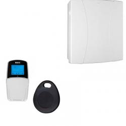 Risco alarme LightSYS 2 - Centrale alarme filaire connectée clavier lecteur de badge
